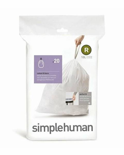 Simplehuman Simplehuman Príslušenstvo - Vrecia do odpadkového koša 10 l, typ R, 20 ks CW0201