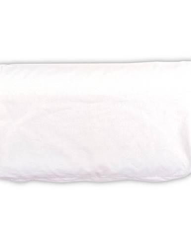 4home Obliečka na vankúš z pamäťovej peny Aloe Vera profilovaný, biela, 50 x 30 cm