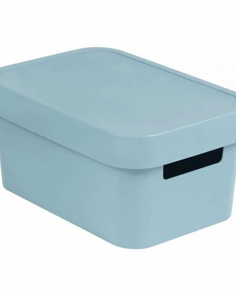 Curver Curver Úložný box INFINITY 4,5l s víkem šedý