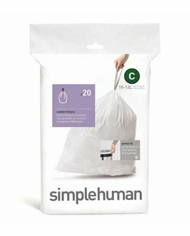 Simplehuman Vrecia do odpadkového koša C 10-12 l, 20 ks