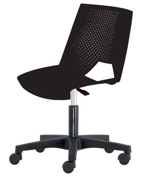 Sconto Kancelárska stolička GREVE čierna
