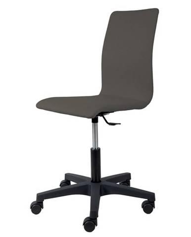 Kancelárska stolička FLEUR antracitová