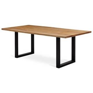 Jedálenský stôl VANCOUVER dub/čierna