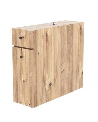 Kúpeľňová skrinka CALENCIA dub