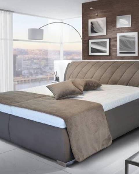 OKAY nábytok Čalúnená posteľ Grosseto - 200x180, rošt, bez matracov