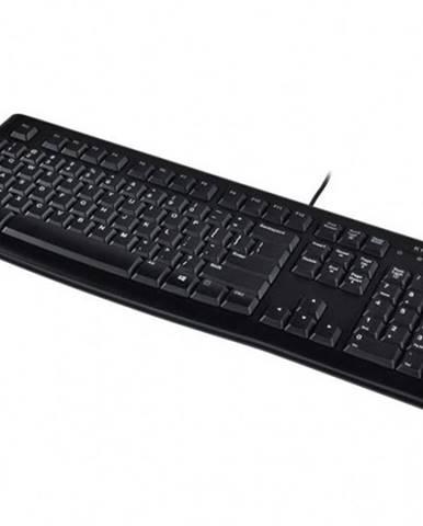 Klávesnica Logitech Corded Keyboard K120, CZE, čierna