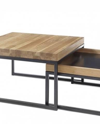 Konferenčný stolík Dorset - set 2 kusov