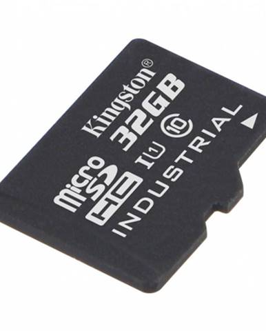 32 GB microSDHC Kingston UHS-I Industrial Temp + bez adaptéra