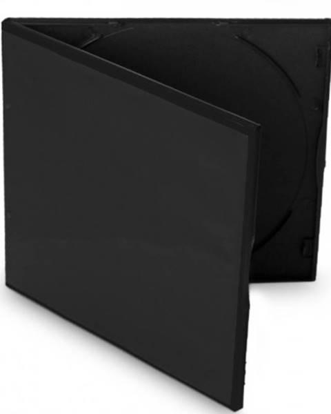 Cover IT Box na CD COVER IT, slim, 10ks/bal, čierny
