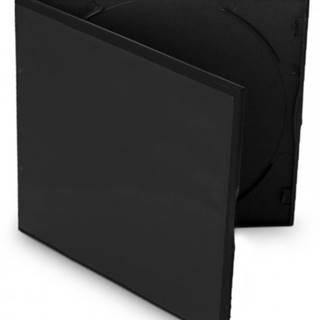 Box na CD COVER IT, slim, 10ks/bal, čierny