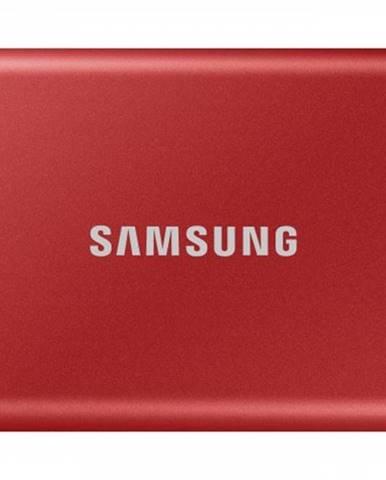 Externý SSD disk Samsung - 1TB - červený