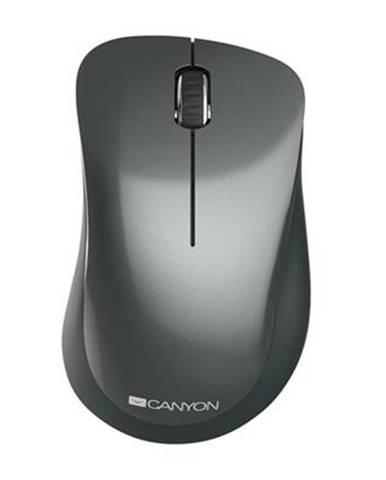 Bezdrôtová myš Canyon MW-11B, 1200 dpi, čierna