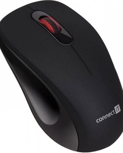 Connect IT Bezdrôtová myš Connect IT CMO-2230-BK, tichá, čierna