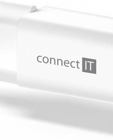 Nabíjačka Connect IT 1xUSB TypC, PD Fast Charge, 18W, biela