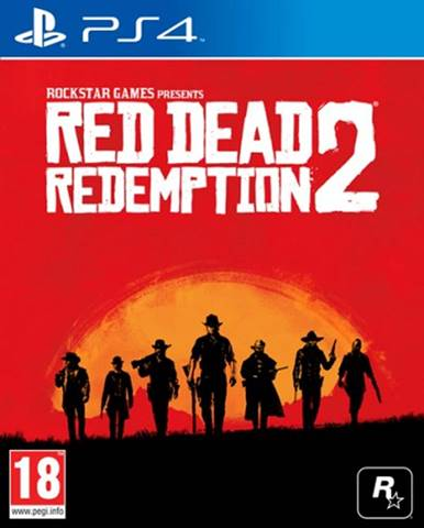 PS4 hra - Red Dead Redemption 2