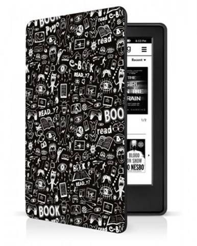 Puzdro na čítačku kníh Amazon Kindle 2019/2020, doodle