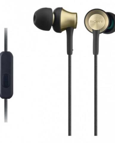 Slúchadlá do uší Sony MDR-EX650APT, čierno-zlaté