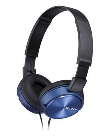 Slúchadlá cez hlavu Sony MDR-ZX310APL, modré