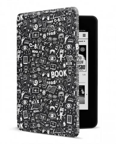 Puzdro pre Amazon Kindle Paperwhite 4, doodle POUŽITÉ, NEOPOTREBO