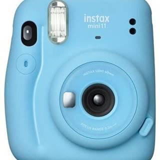 Fotoaparát Fujifilm Instax Mini 11, modrá + fotopapier 10ks