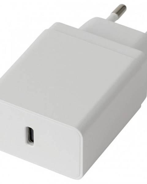 Winner Group Nabíjačka WG USB-C, 18W + kábel USB-C na USB-C, biela