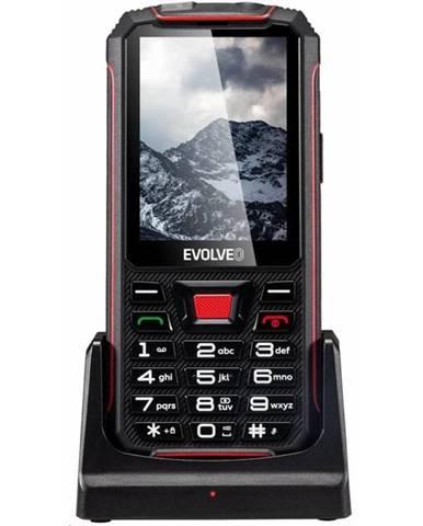 Mobilný telefón Evolveo StrongPhone Z4 čierny/červený