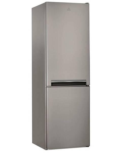 Indesit Kombinácia chladničky s mrazničkou Indesit LI8 S2E X nerez