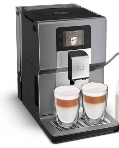 Espresso Krups Intuition Preference+ EA875E10 čierne/chróm