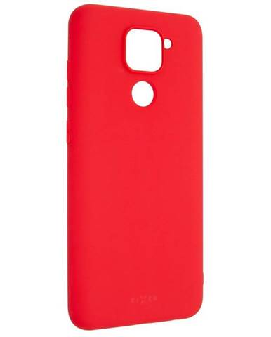Kryt na mobil Fixed Story na Xiaomi Redmi Note 9 červený