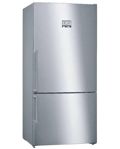 Kombinácia chladničky s mrazničkou Bosch Serie | 6 Kgn86aidp nerez