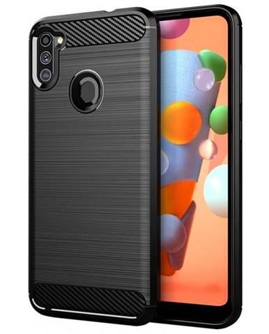 Kryt na mobil WG Carbon na Samsung Galaxy M11/A11 čierny