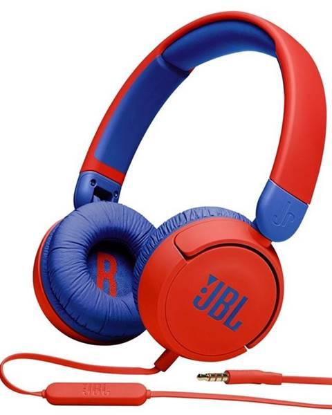 JBL Slúchadlá JBL JR 310 červená/modr