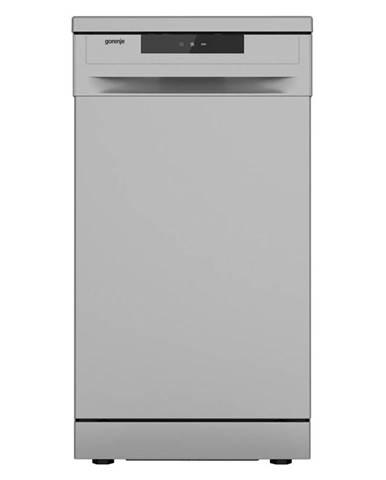 Umývačka riadu Gorenje Essential GS52040S strieborn