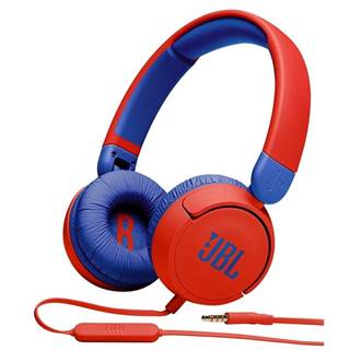 Slúchadlá JBL JR 310 červená/modr
