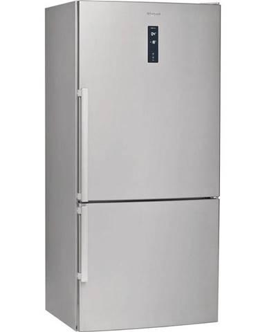 Kombinácia chladničky s mrazničkou Whirlpool W84BE 72 X 2 nerez