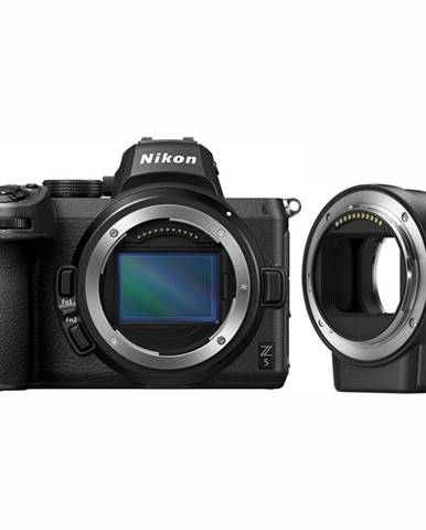 Digitálny fotoaparát Nikon Z 5 + FTZ adapter  čierny