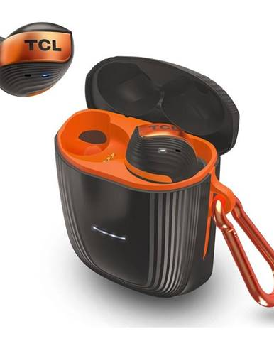 Slúchadlá TCL Actv500tws čierna/oranžová