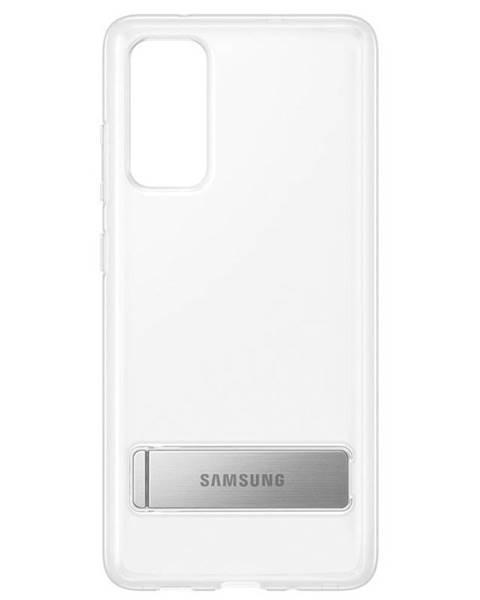 Samsung Kryt na mobil Samsung Clear Standing na Galaxy S20 FE priehľadný