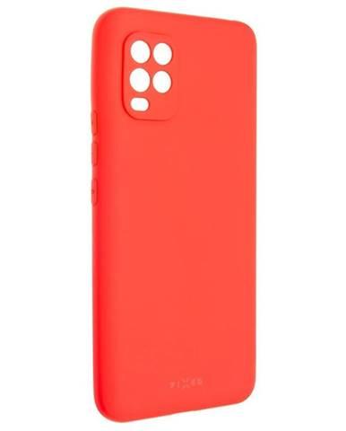 Kryt na mobil Fixed Story na Xiaomi Mi 10 Lite červený