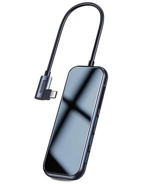 Baseus Dokovacia stanica Baseus USB-C/3x USB 3.0, Hdmi, SD/TF, USB-C PD
