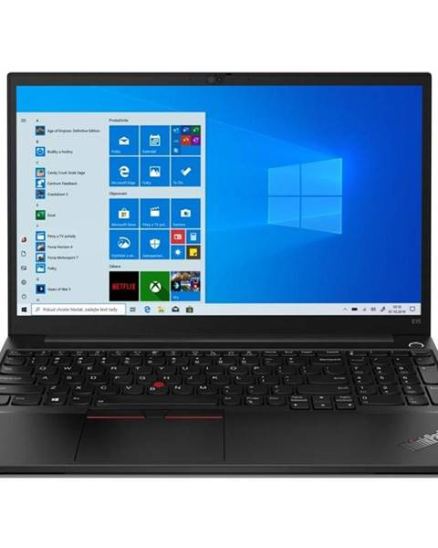 Lenovo Notebook Lenovo ThinkPad E15 Gen 2 čierny