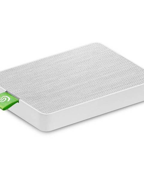 Seagate SSD externý Seagate Ultra Touch 500GB, USB 3.0 biely