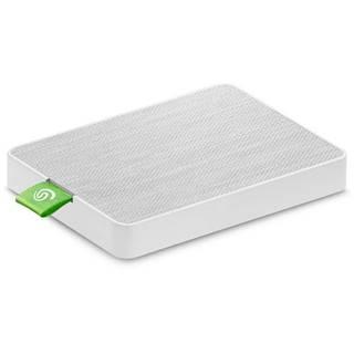 SSD externý Seagate Ultra Touch 500GB, USB 3.0 biely
