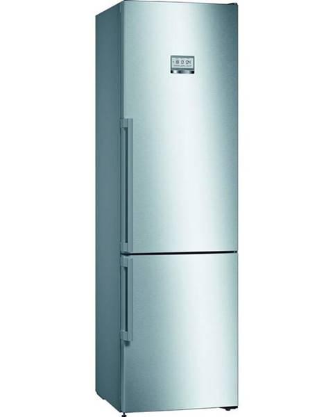 Bosch Kombinácia chladničky s mrazničkou Bosch Serie   8 Kgf39pidp nerez