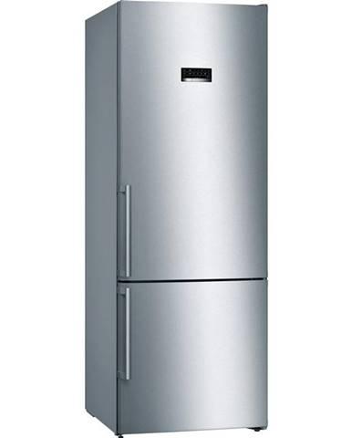 Kombinácia chladničky s mrazničkou Bosch Serie | 4 Kgn56xidp nerez