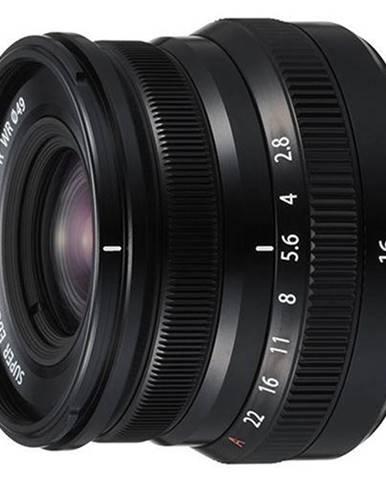 Objektív Fujifilm XF16 mm f/2.8 R WR čierny