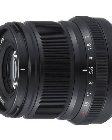 Objektív Fujifilm XF50 mm f/2.0 R WR čierny