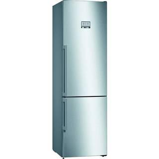 Kombinácia chladničky s mrazničkou Bosch Serie   8 Kgf39pidp nerez
