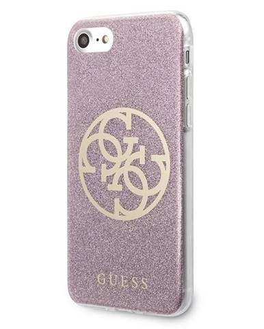 Kryt na mobil Guess Glitter 4G Circle na Apple iPhone 8/SE