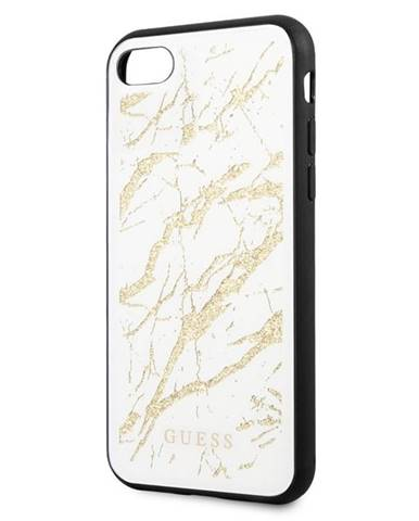 Kryt na mobil Guess Glitter Marble na Apple iPhone 8/SE